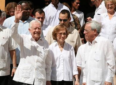 James Carter en La Habana
