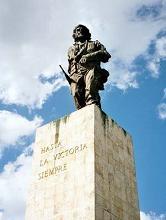 Brigada chilena rinde tributo al Che y expresa solidaridad con Cuba