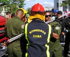 Villa Clara: sede de las actividades centrales por la Semana Nacional de protección contra Incendios