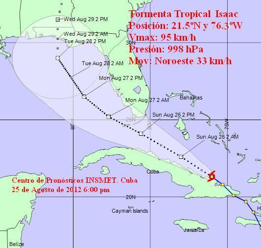 Isaac por Cuba