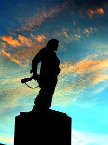 En Santa Clara, todo listo para el homenaje al Che Guevara