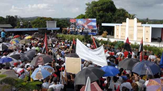 Celebran villaclareños el Día de la Rebeldía Nacional